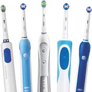 dentist in centennial recommends electric toothbrushes