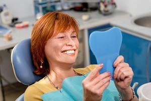 Comfortable dentures in Centennial, CO